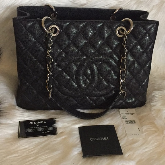 5917193ffa171d CHANEL Bags | Large Shopping Bag | Poshmark
